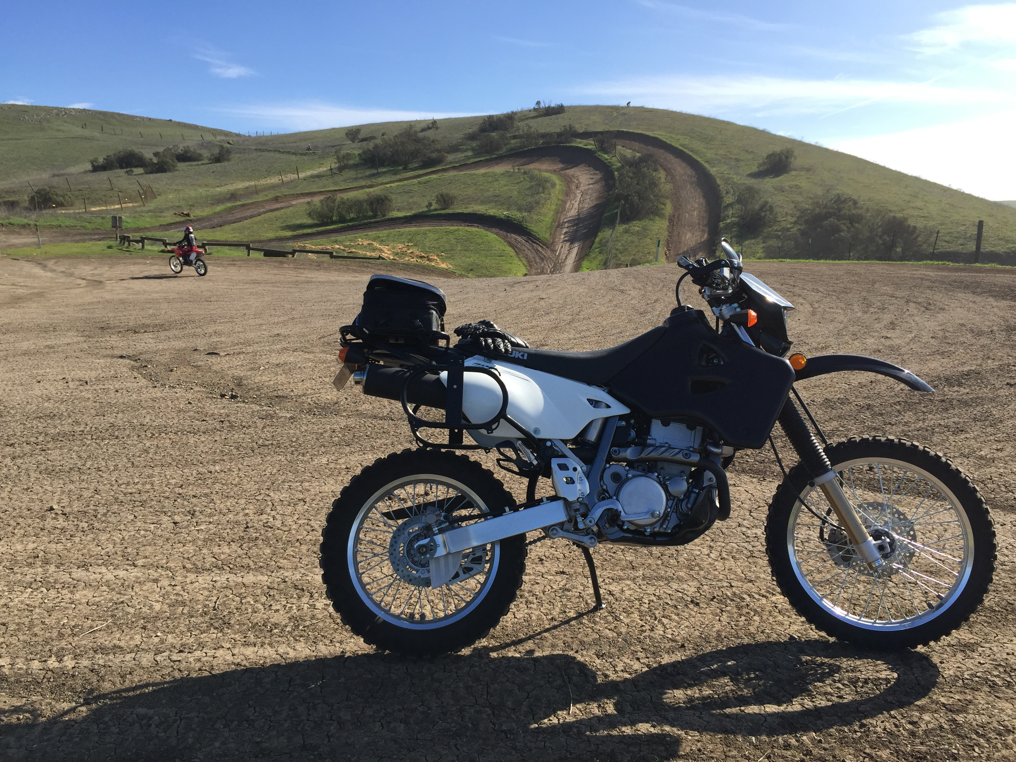 The DRZ oil system is… busy – Always Overdone